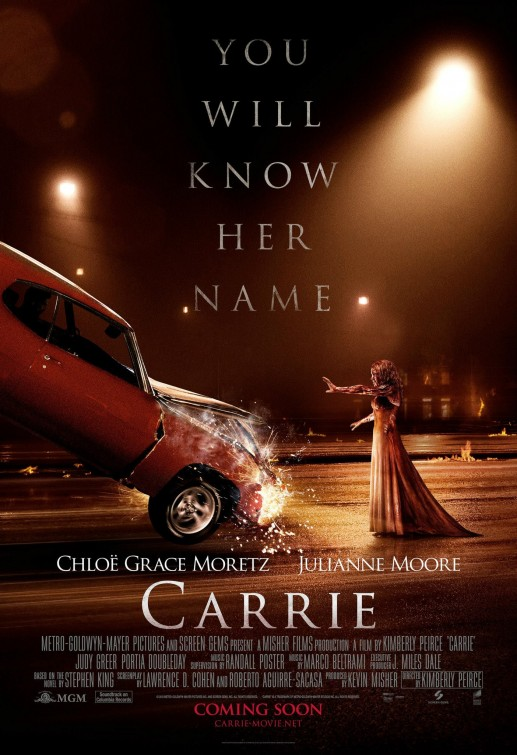 """a personal review of the film carrie by brian depalma There will be more versions of """"carrie"""" in the years to come, and perhaps one of  them will rival brian de palma's 1976 film as a portrait of  her version of the  character provides more opportunities for bloody self-mortification."""